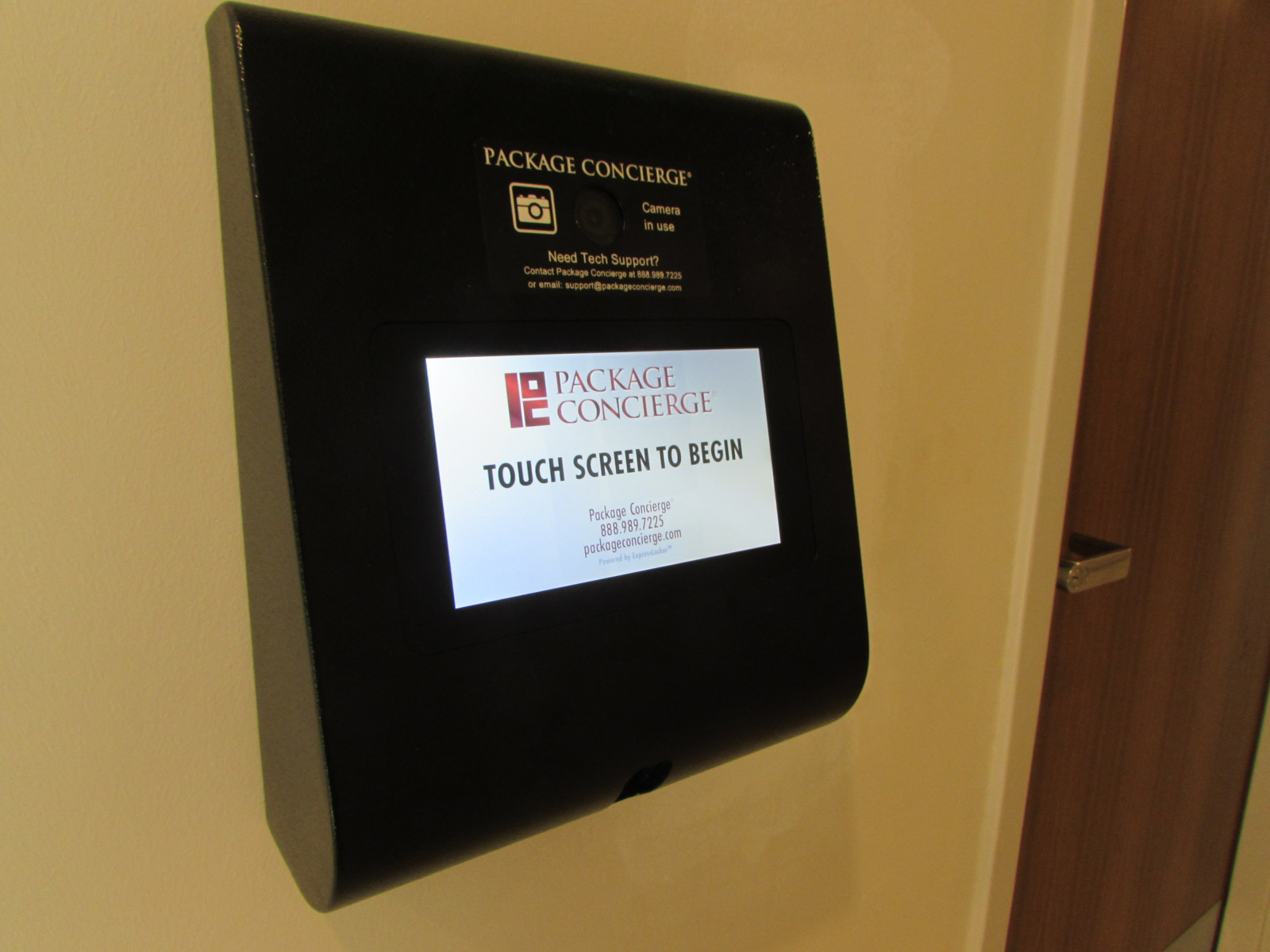 Wall Mounted Access Control Panel for Package Room