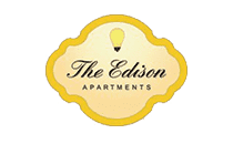 The Edison apartments logo